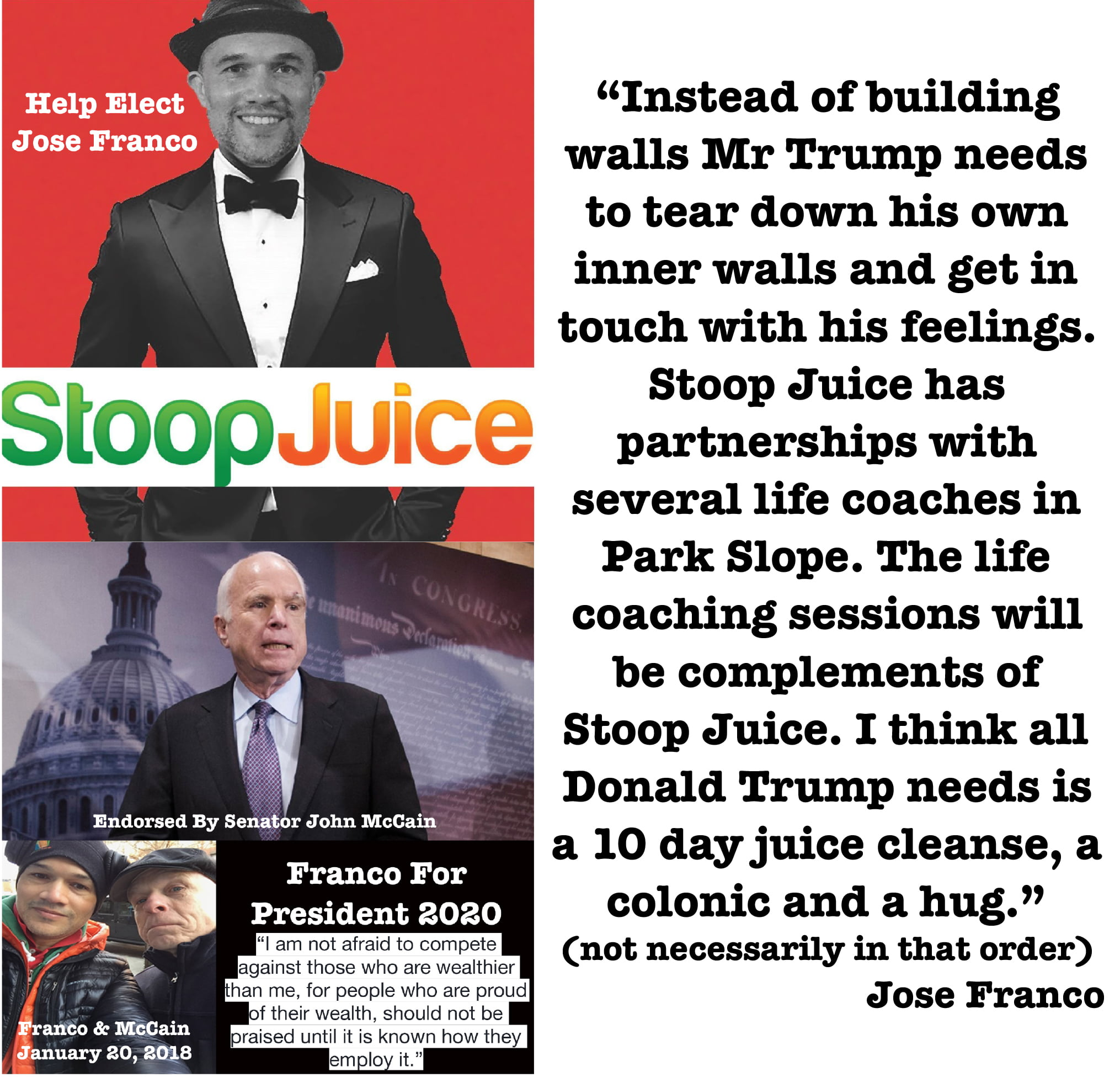 Stoop Juice Apologizes For Campaign Flyers Posted In Park Slope Brooklyn