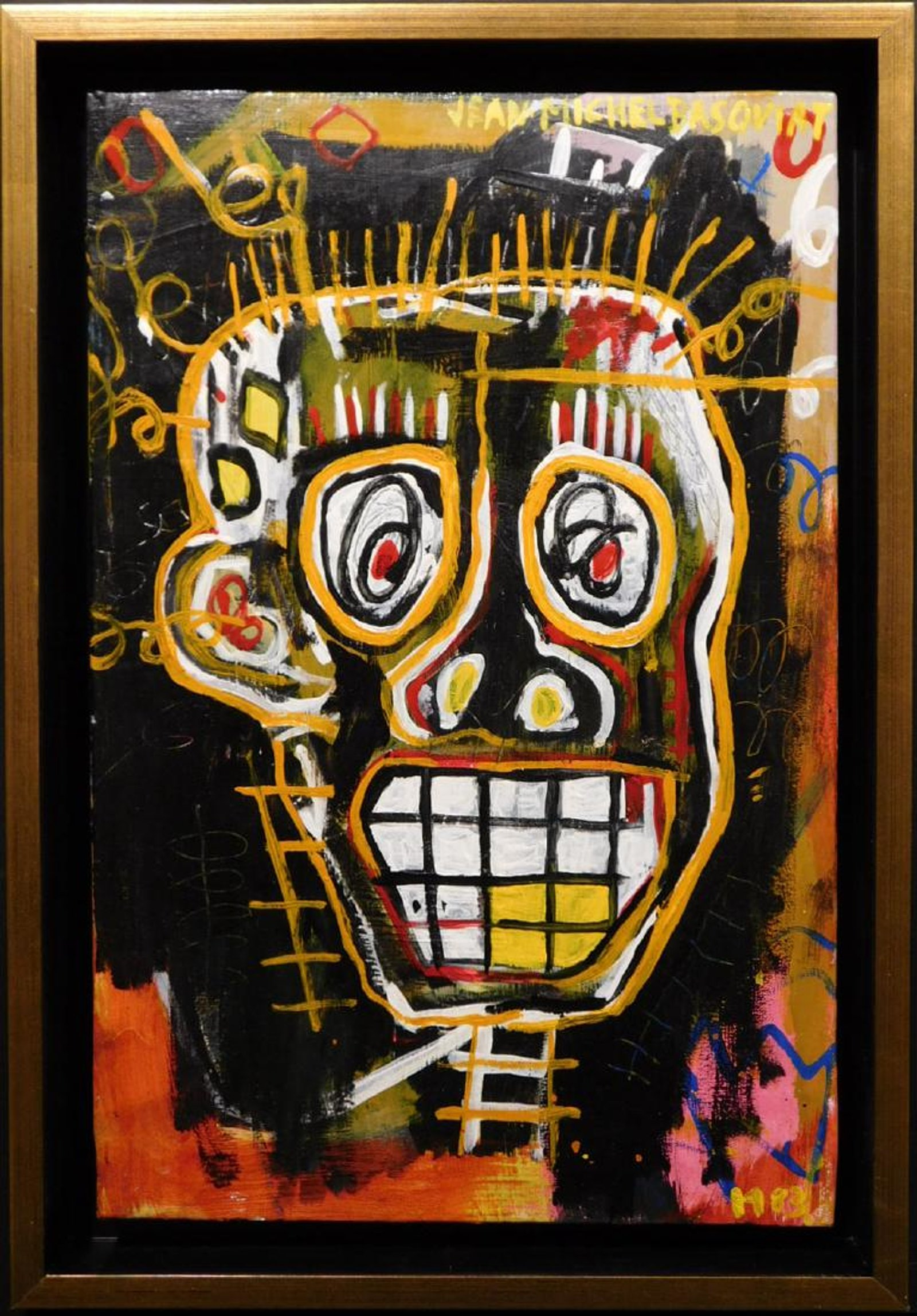 Basquiat and Warhol share the spotlight in Woodshed Art Auctions' online-only fine art auction, Feb. 1st