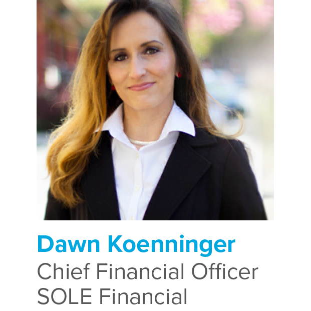 Growing Rapidly: SOLE Financial Promotes Dawn Koenninger to CFO