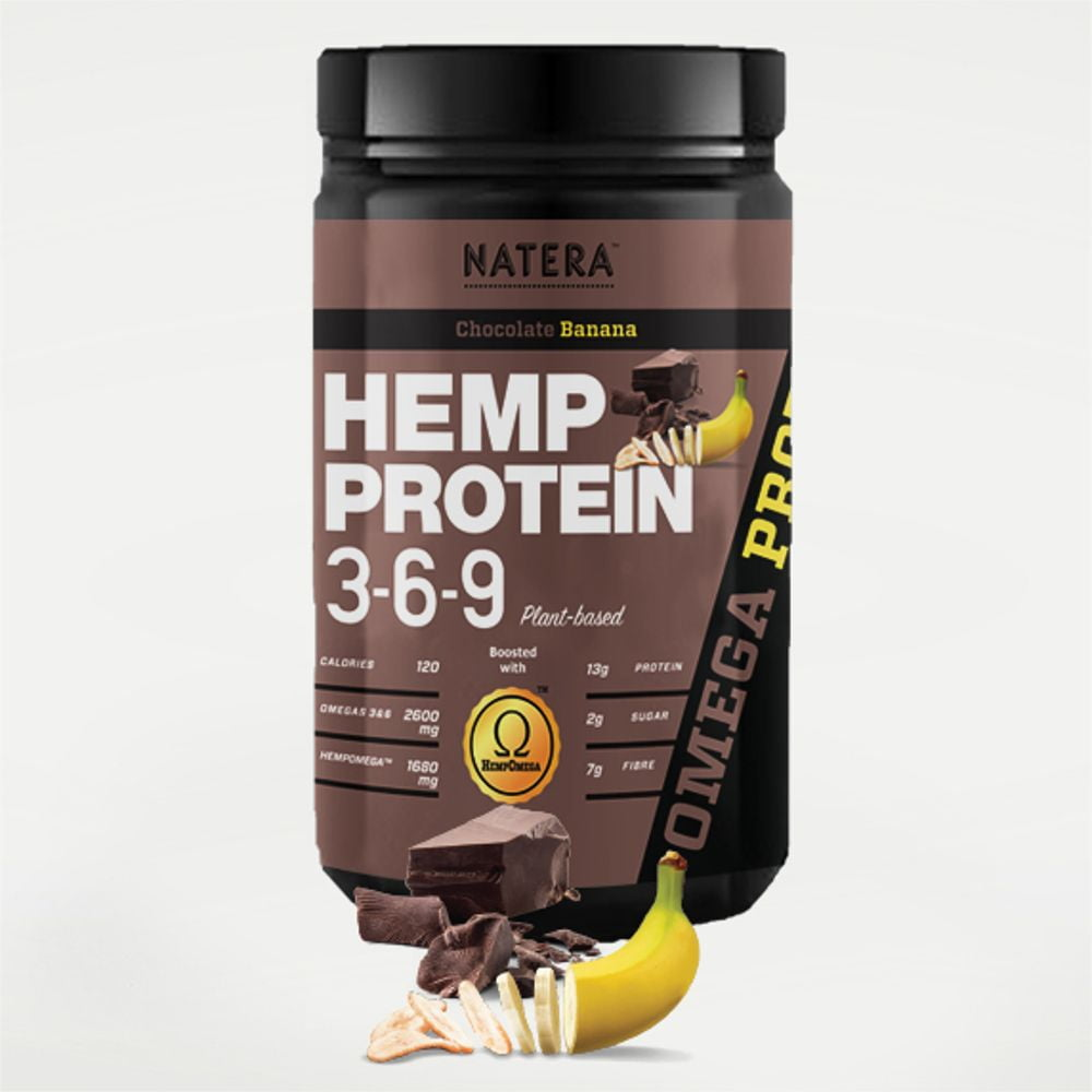 NATERA Hemp Protein Powder 369, Breakthrough Plant Based Supplement launched by VITA ACTIVATE