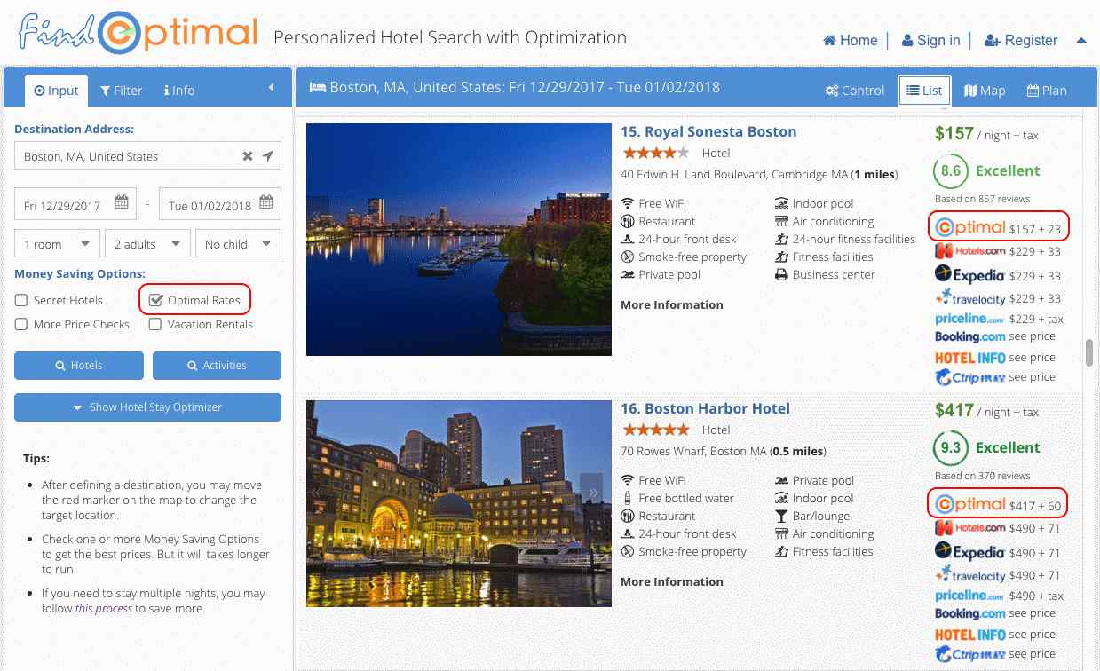 Money Saving Options for Hotel Searching
