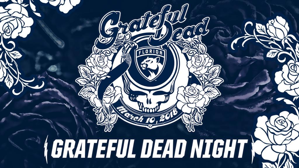 Panthers Announce Second Grateful Dead Night on Saturday, March 10