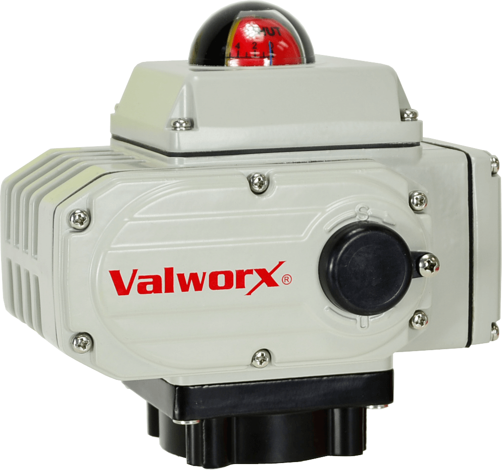 Valworx Introduces Upgraded Electric Actuator for Motorized Valves
