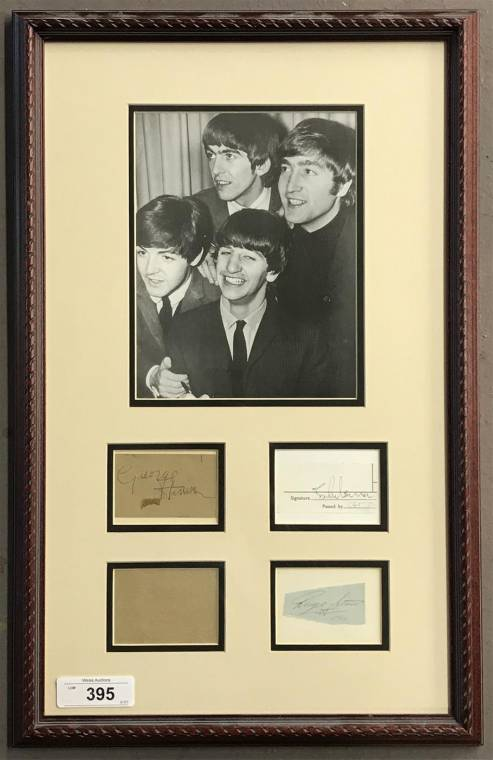 Frank Sinatra, Jimi Hendrix, the Beatles and Bruce Springsteen are all in Weiss Auctions' April 19 sale
