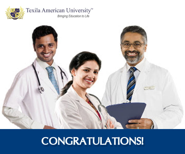 Eleven Doctors of Texila American University in Academic Partnership With UCN Clear Royal College (UK) Part 1 Examinations