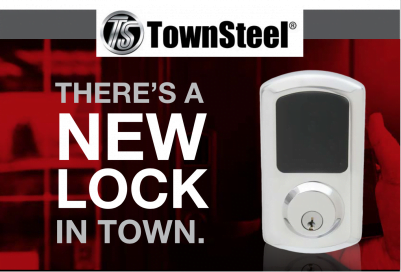 TownSteel Inc. To Debut New Line Of High-Security Smart Electronic Locks at ISC West