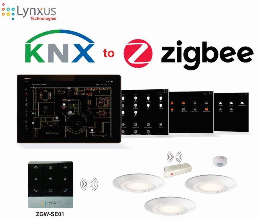 KNX to zigbbe, now you can cut the cord