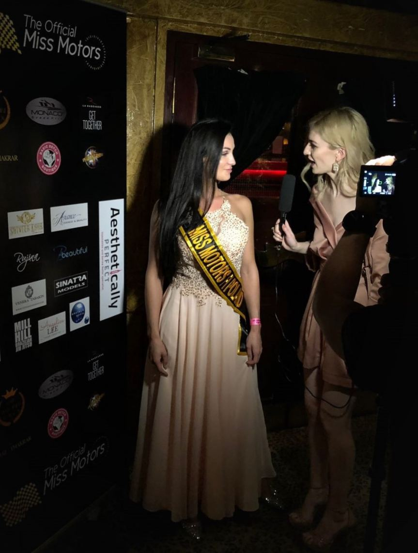 Patrycja Rebech Wins Miss London Poland Crown For Miss Motors F1