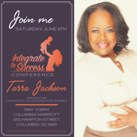 Financial Expert Tarra Jackson Shares Stage with Singer Syleena Johnson to Empower Women in SC