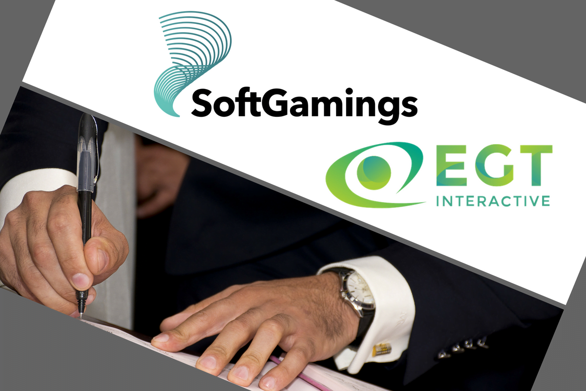 New deal agreed between SoftGamings and EGT Interactive