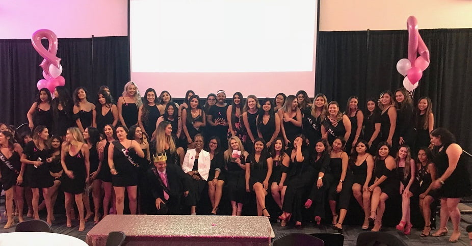 Breast Cancer Survivor Delivers a Touching Speech to Sorority