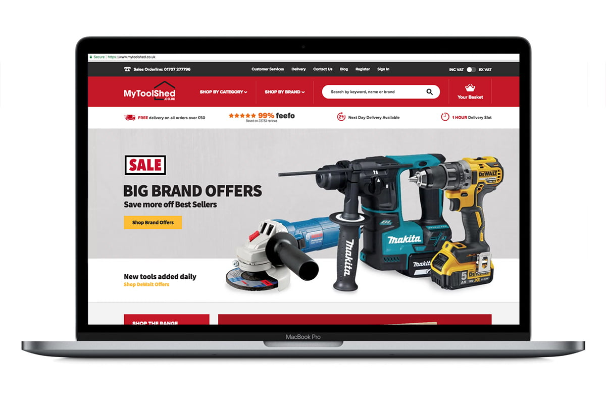 Shopping for Tools for DIY Projects is Easy and Affordable With the New Mobile-Friendly Website MyToolShed.co.uk