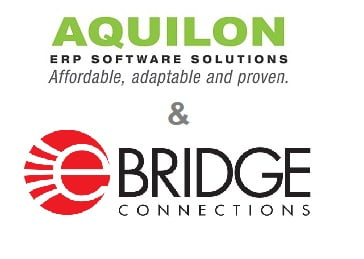 eBridge Connections and Aquilon Software Announce Strategic Partnership in Order to Integrate Aquilon ERP With Leading eCommerce Platforms, CRM Applications and More