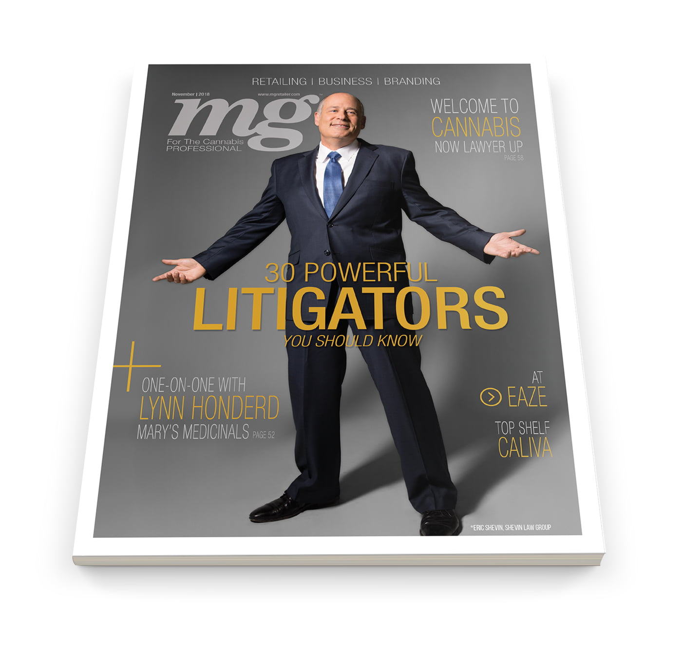 mg Magazine Releases the 2018 List of 30 Powerful Cannabis Litigators Every Business Operator Should Know