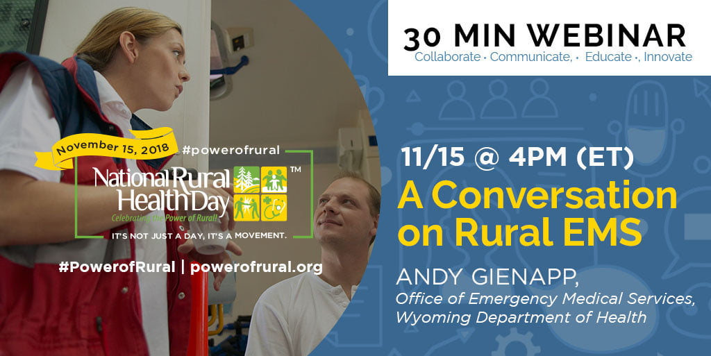 Guide to Events and Activities Happening on Nov. 15 – National Rural Health Day