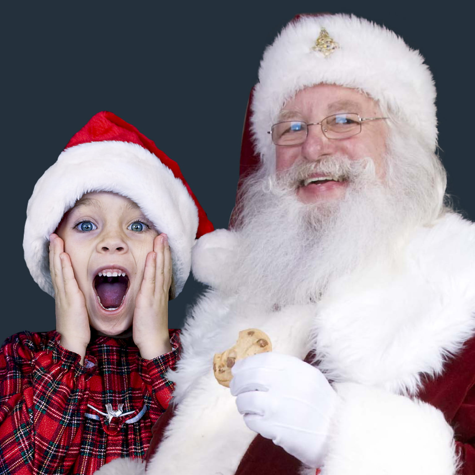 Photo App Lets Parents 'Catch Santa' In-the-Act