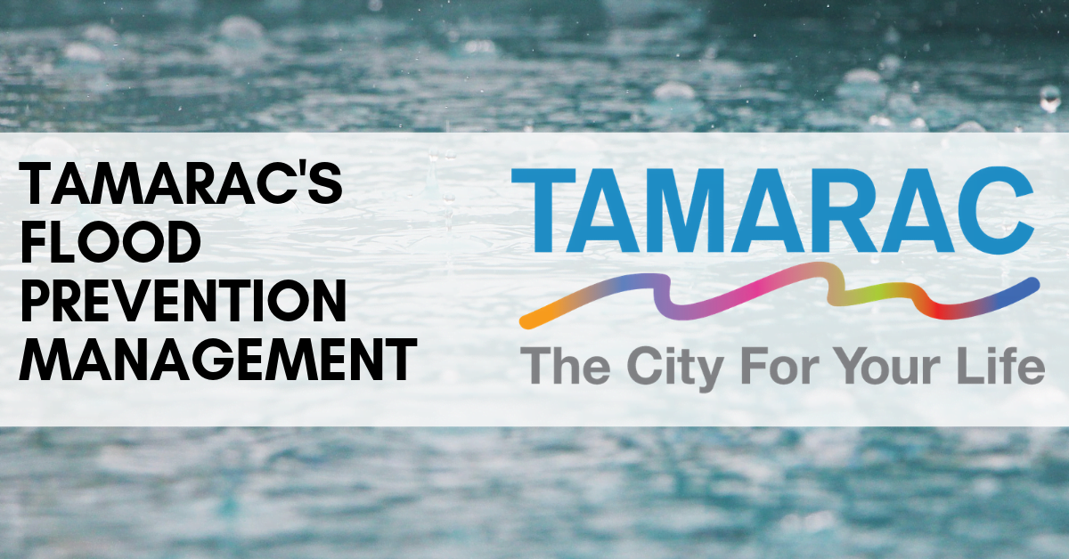 Tamarac's Flood Management Efforts Pay Off
