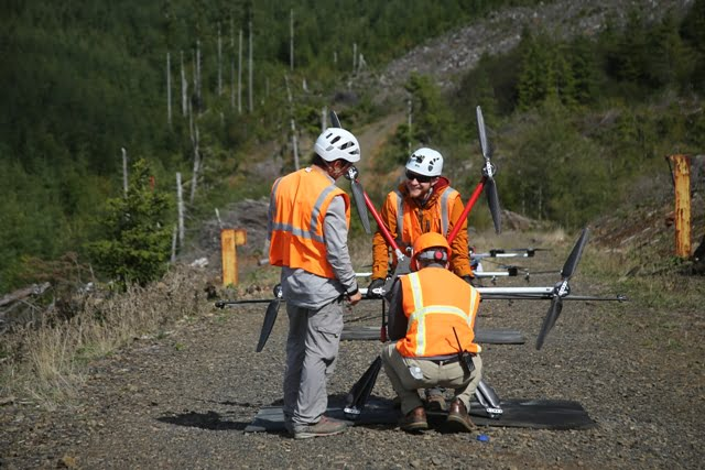 First-of-Their-Kind Drone Swarms to Restore Oregon Rangelands
