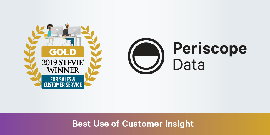 Periscope Data Honored by Stevie® Awards for Customer Solutions Excellence