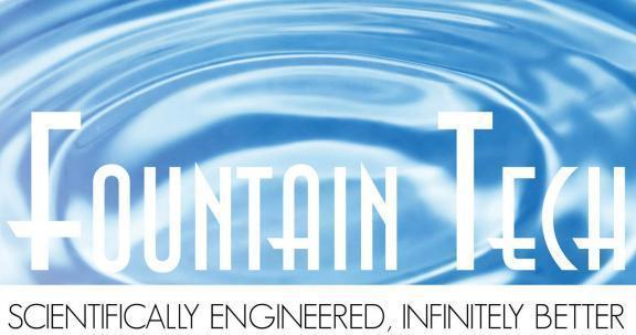 Fountain Tech is Offering Fountain Pumps and Submersible Fountain Lights