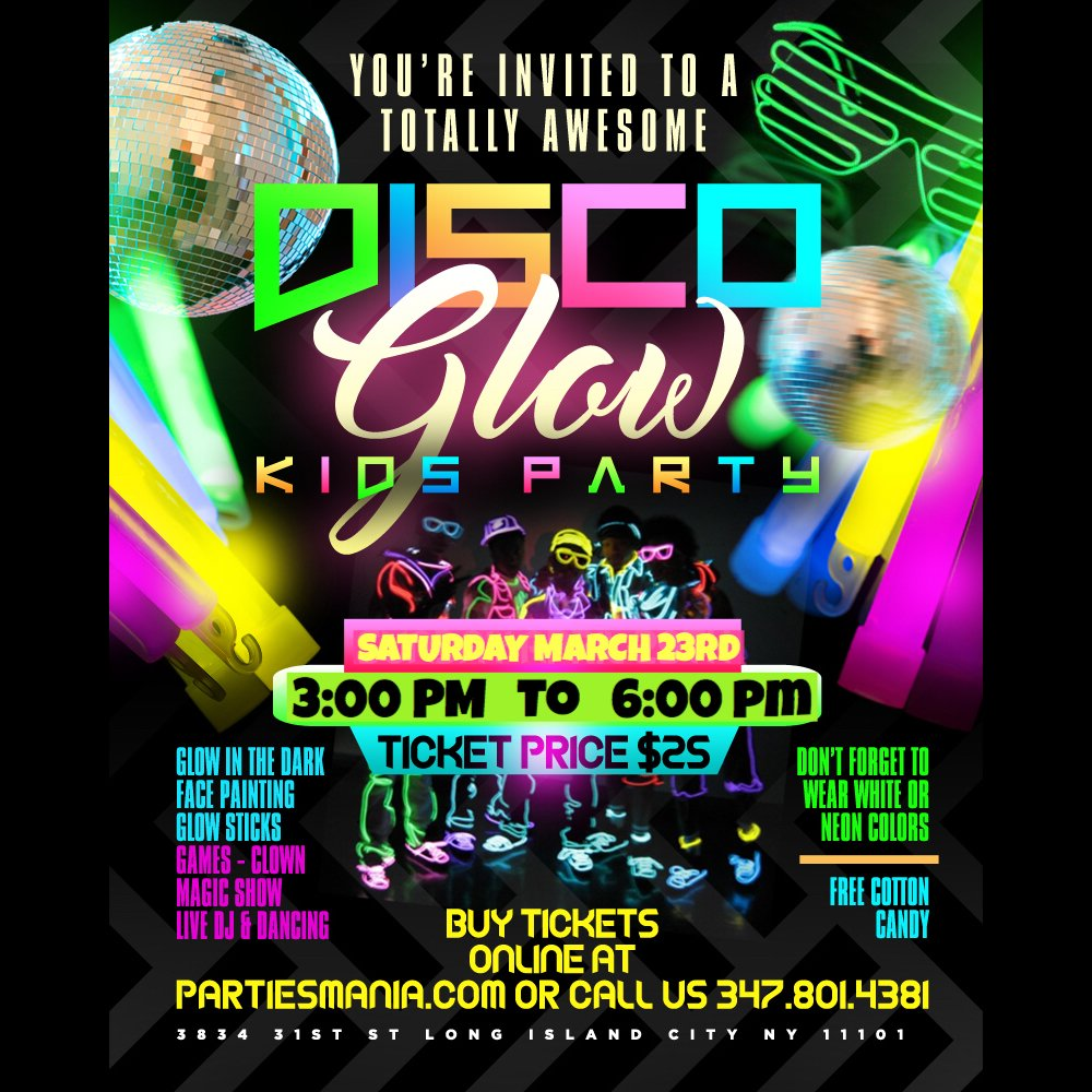 Disco Glow Kids Party Eprnews