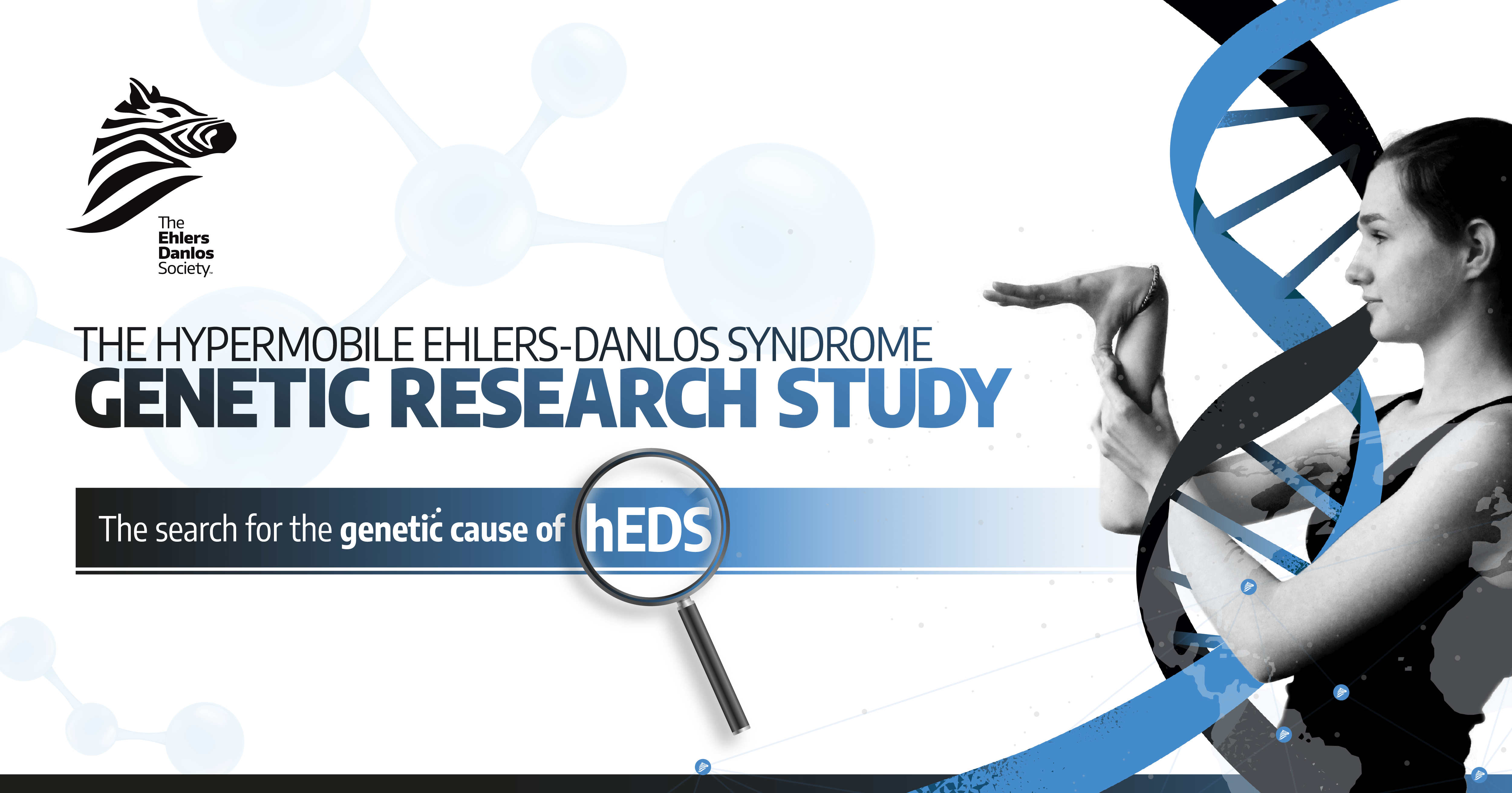 The Ehlers-Danlos Society Announces Worldwide Research Study to Identify the Genetic Cause of Hypermobile Ehlers-Danlos Syndrome
