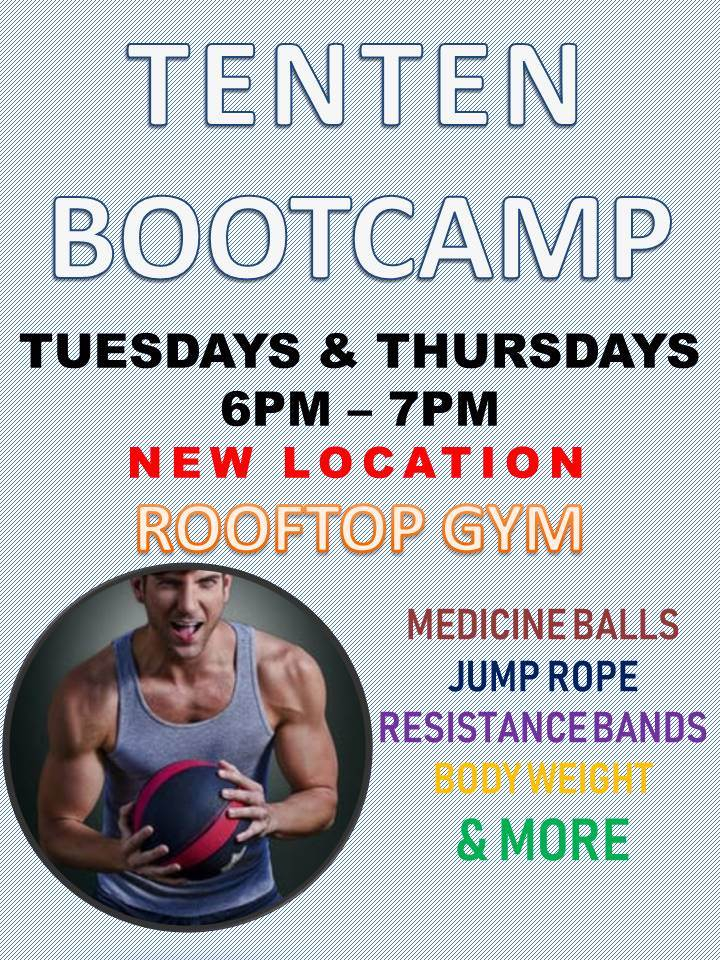 TenTen Wilshire to Hold Bootcamp Fitness Classes in the 1010 Wilshire Rooftop Gym