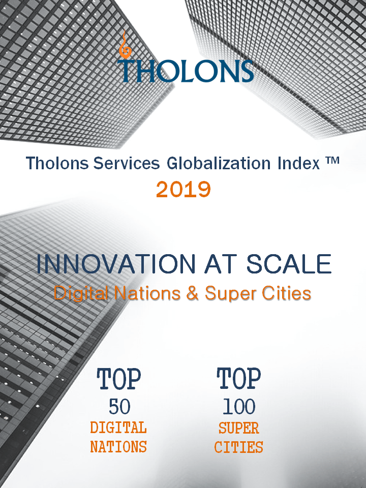 Tholons Releases 2019 Services Globalization Index – Innovation at Scale!