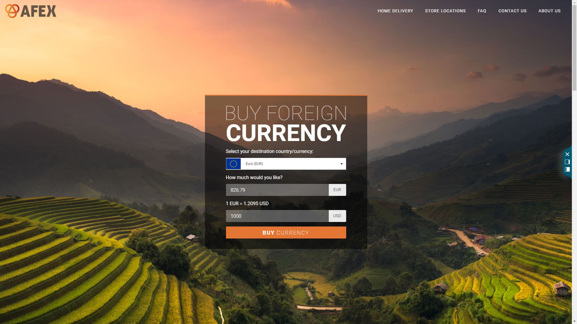 AFEX Launches Home Delivery of Foreign Currency