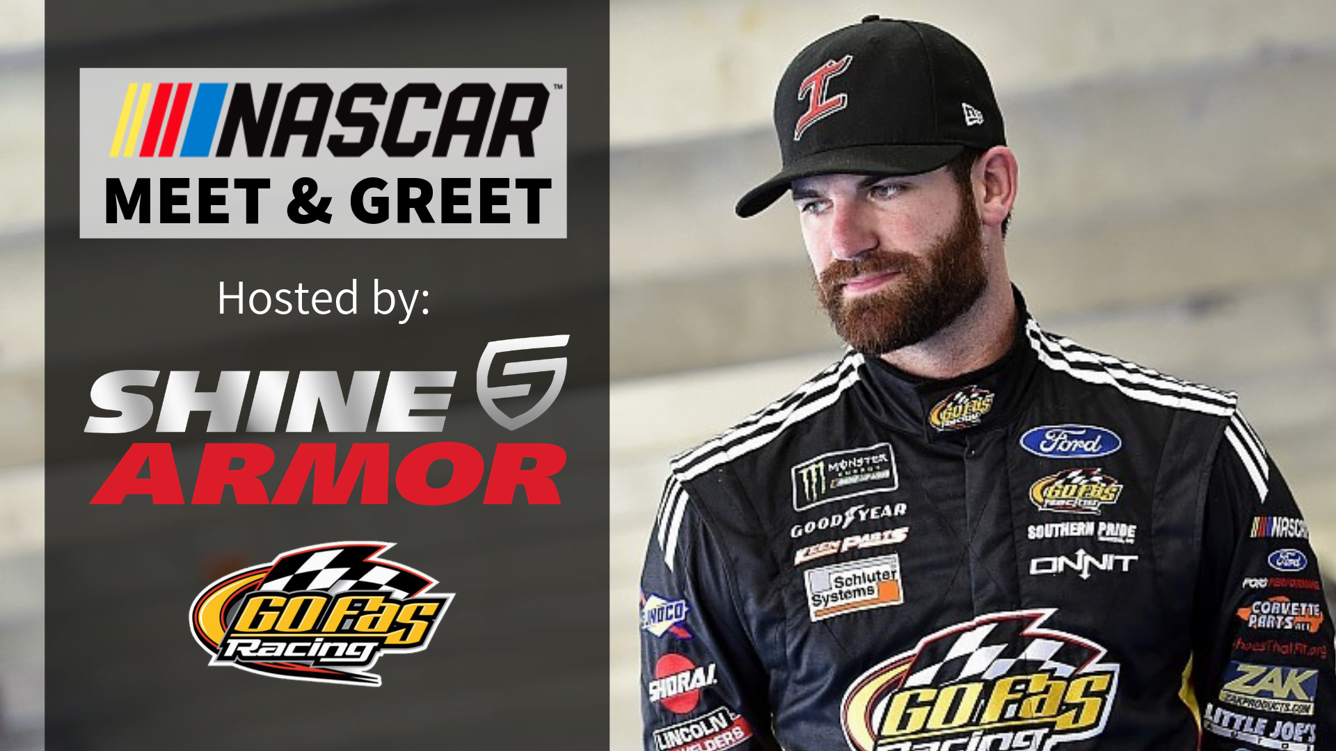 Join Six-Time NASCAR Winner Corey LaJoie at an Exclusive Meet & Greet Event