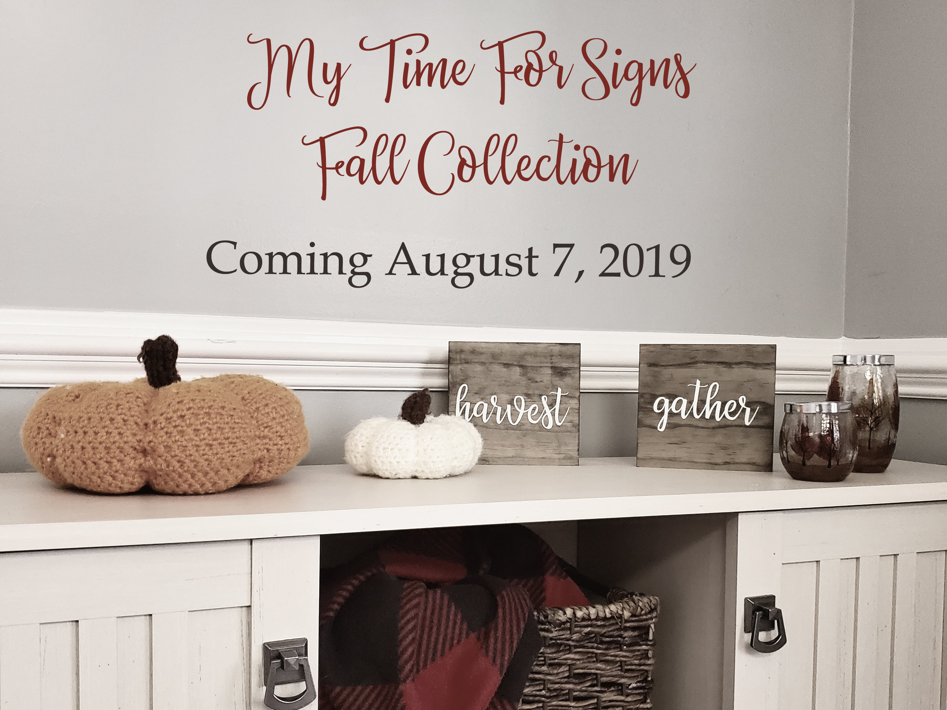 My Time For Signs Releasing Fall Line