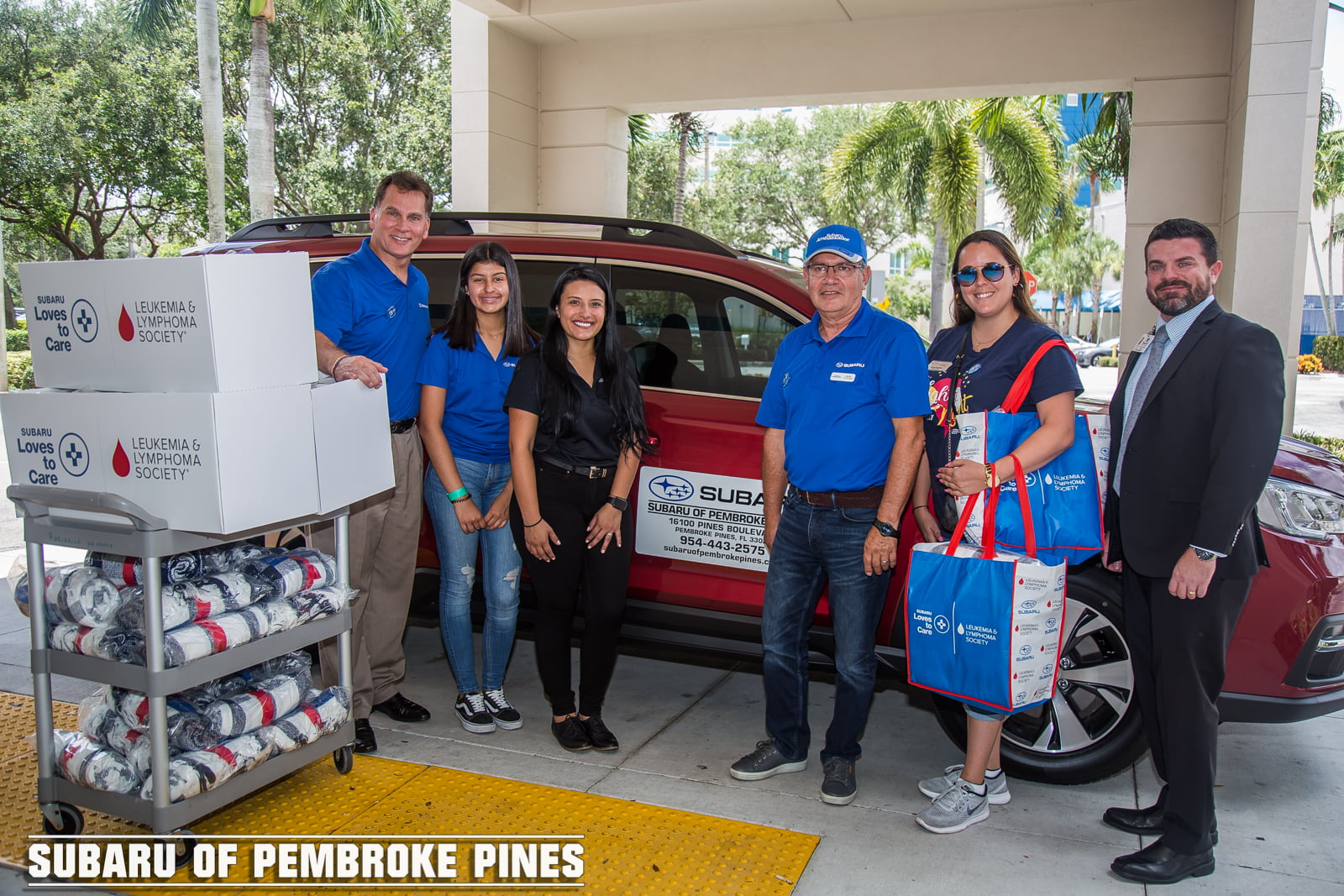 Subaru of Pembroke Pines and the Leukemia & Lymphoma Society Continue to Spread Hope and Warmth to Pediatric and Adult Cancer Patients Throughout Broward County Area Hospitals