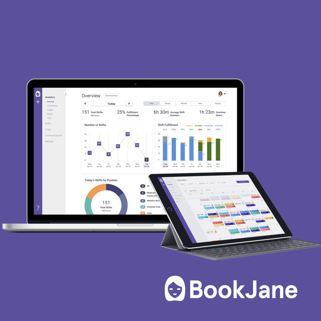 BookJane Launches Scheduling & Data Analytics Features for the BookJane J360 Platform