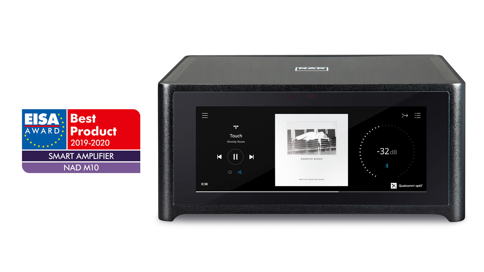 NAD Electronics' Masters M10 BluOS® Streaming Amplifier Awarded Top Honour by World's Most Prestigious Hi-Fi Press