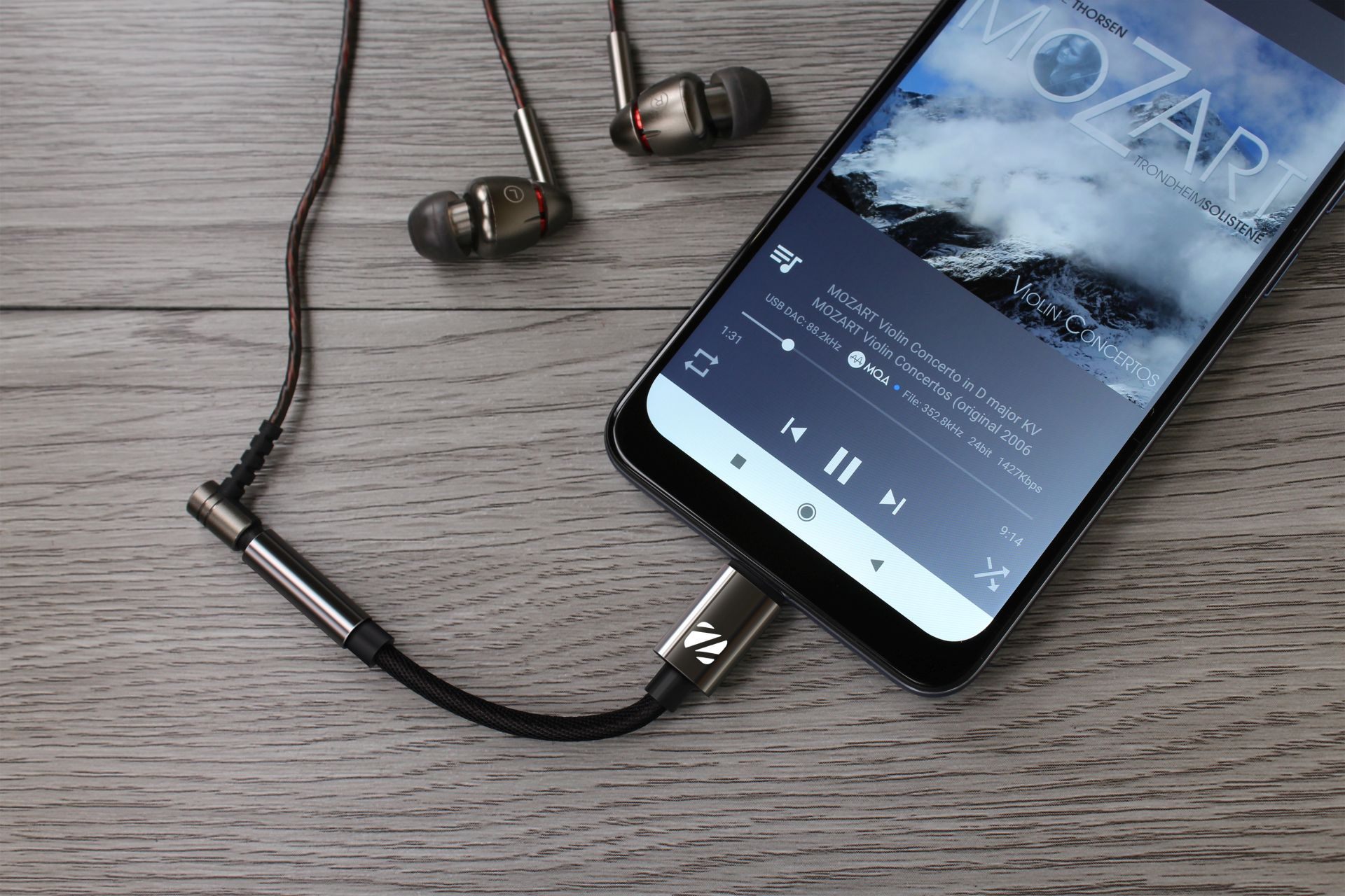 Zorloo Introduces Ztella Integrated USB-DAC Cable With MQA Support
