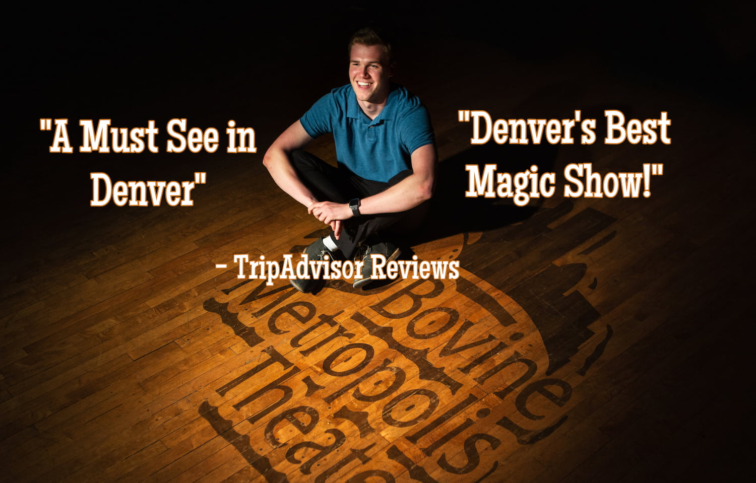 Scotty Wiese Presents 'Mile High Magic' – the Weekly Magic Show Every Sunday in Downtown Denver
