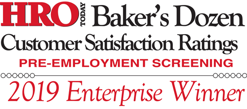 Employment Screening Resources (ESR) Named a Top Pre-Employment Screening Service Company for Enterprise Organizations by HRO Today Magazine's Baker's Dozen