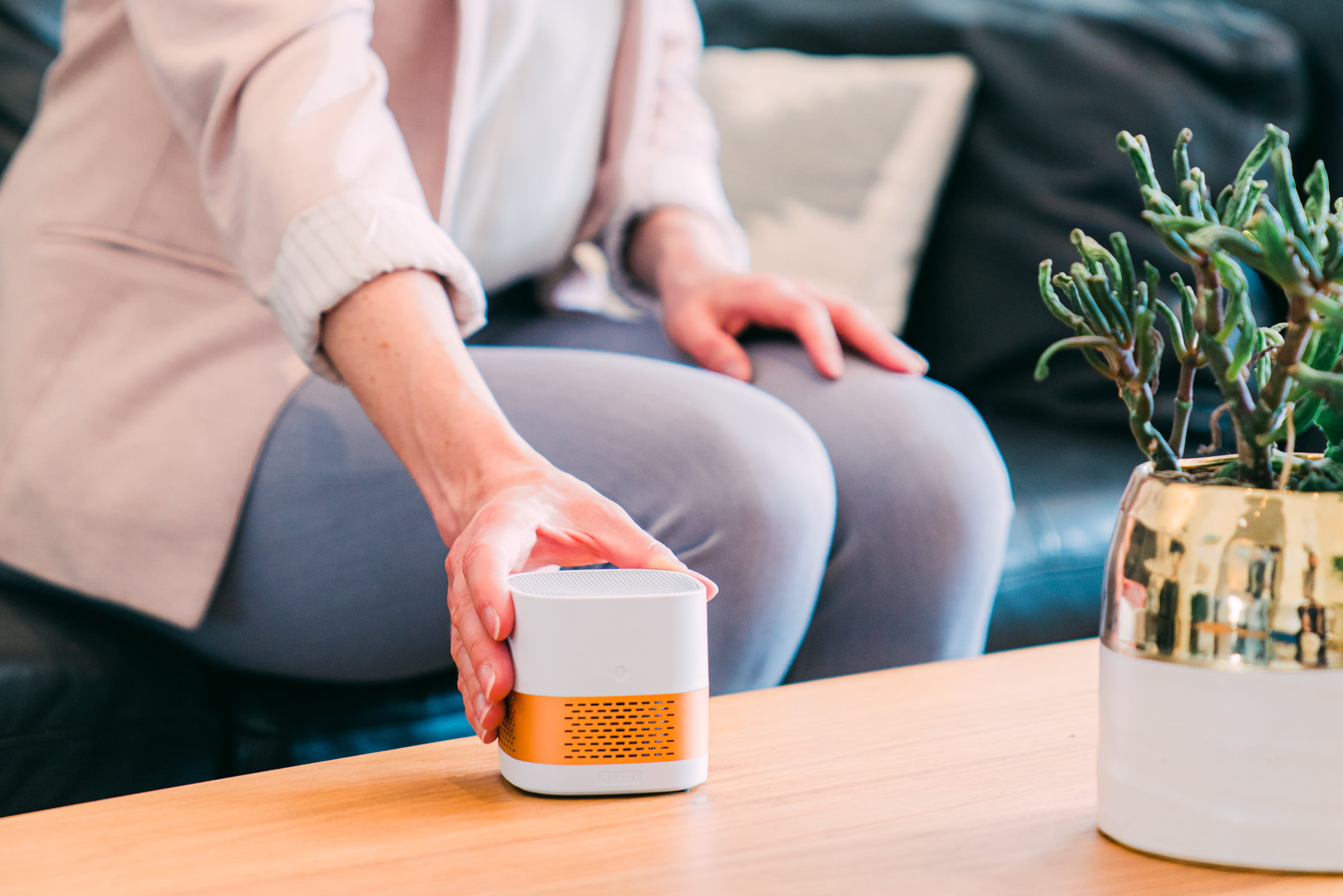 This Portable Air Purifier Will Be Your Health Guardian in Wildfire Season