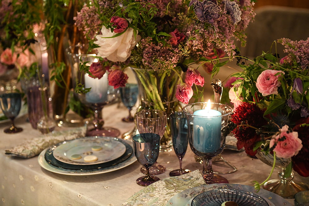 Artemest and Luisa Beccaria Launch a Romantic Tabletop Collection