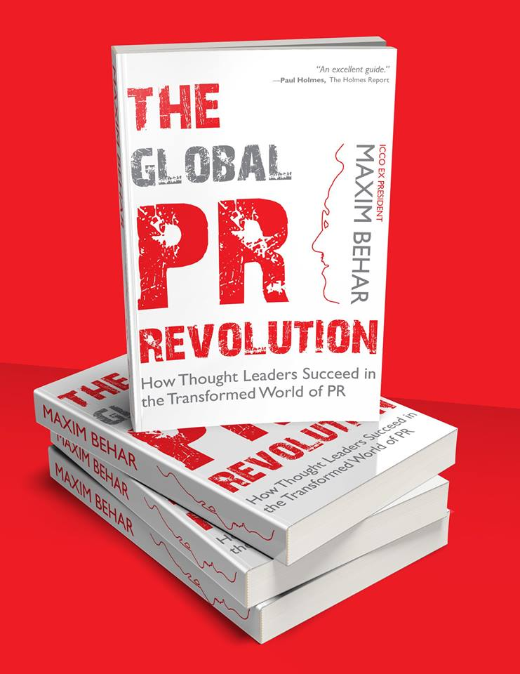 'The Global PR Revolution' by Maxim Behar Described as the PR Bible for 2020