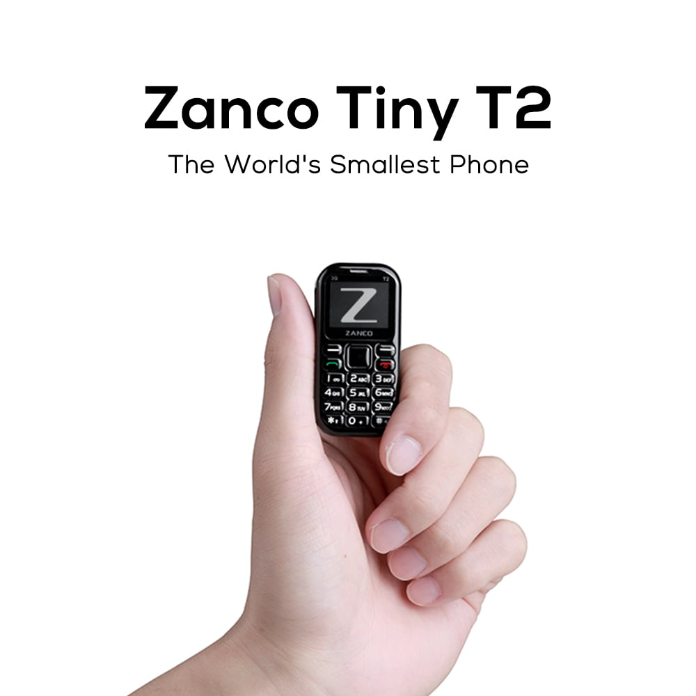 Zini Mobiles Announces the Kickstarter Launch of the Zanco Tiny T2 – the World's Smallest Mobile Phone