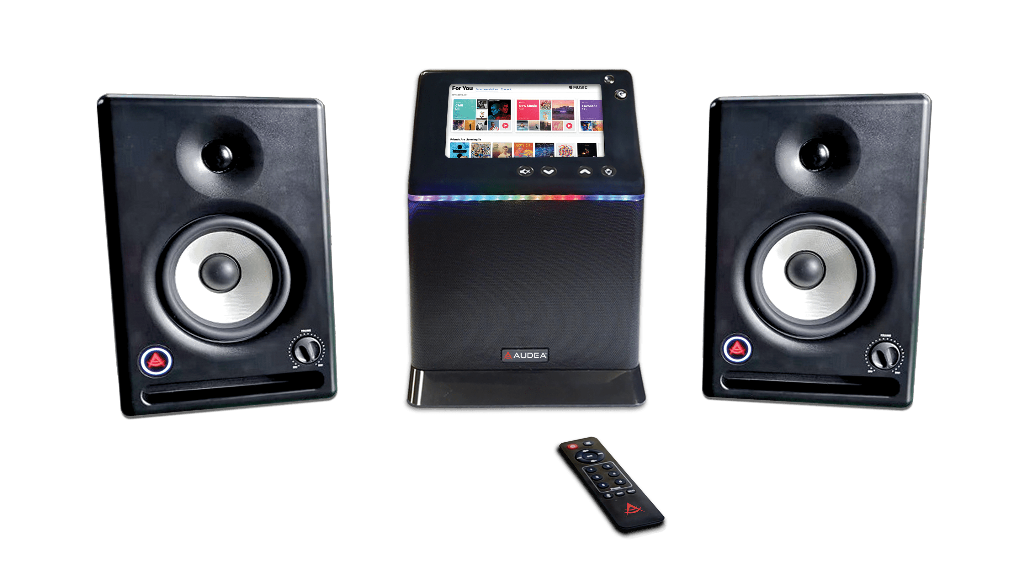 AUDEA® Introduces the World's Highest-Quality Smart Speaker That Runs Music and Video Apps Without a Phone