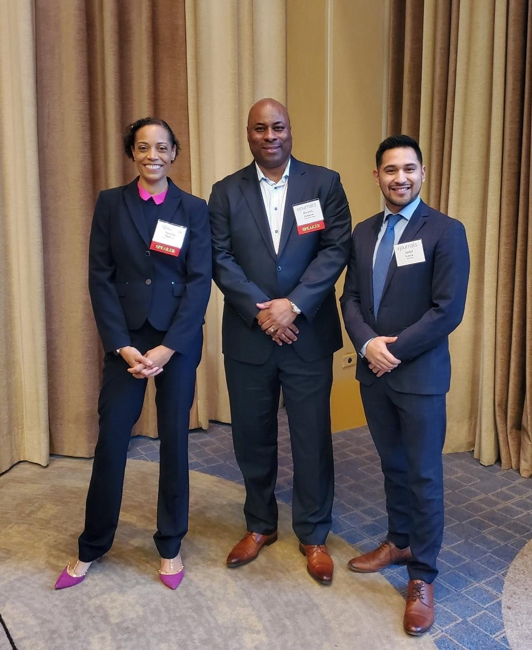 Nasutsa Mabwa of ServiceMaster Restoration by Simons Key Moderator for the 18th Annual Commercial Real Estate Forecast Conference, Hyatt Regency Chicago