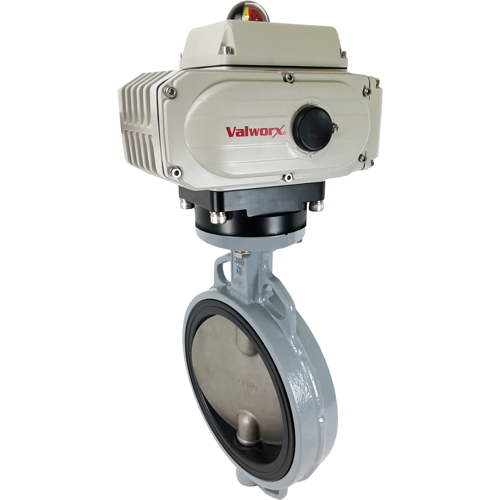 Valworx Introduces New Product Line: Extended Sizes of Actuated Ductile Iron Butterfly Valve