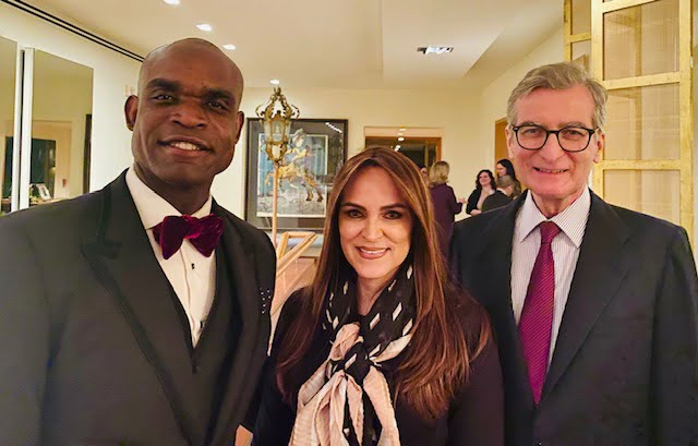 Dr. Clayton Lawrence Honored to Attend Ambassador of Spain VIP Reception