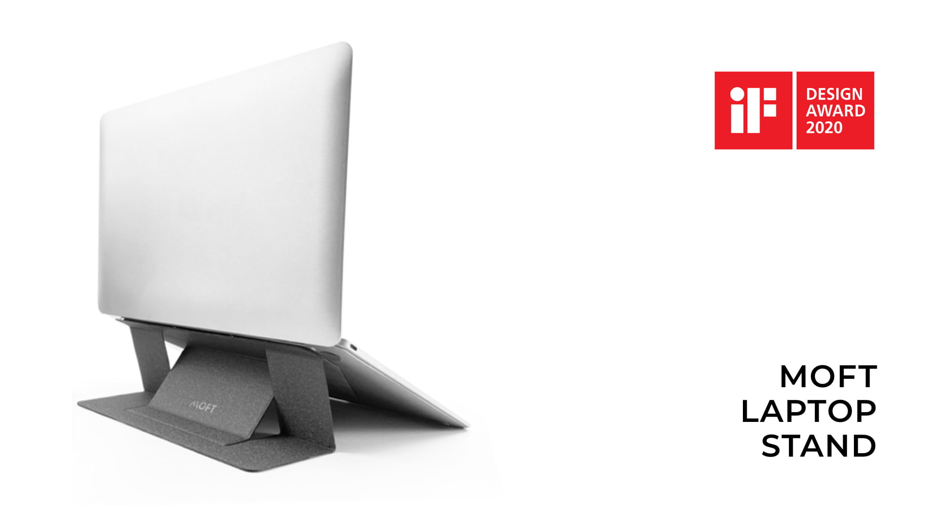 MOFT Wins iF Design Award for the World's First Adhesive Foldable Laptop Stand