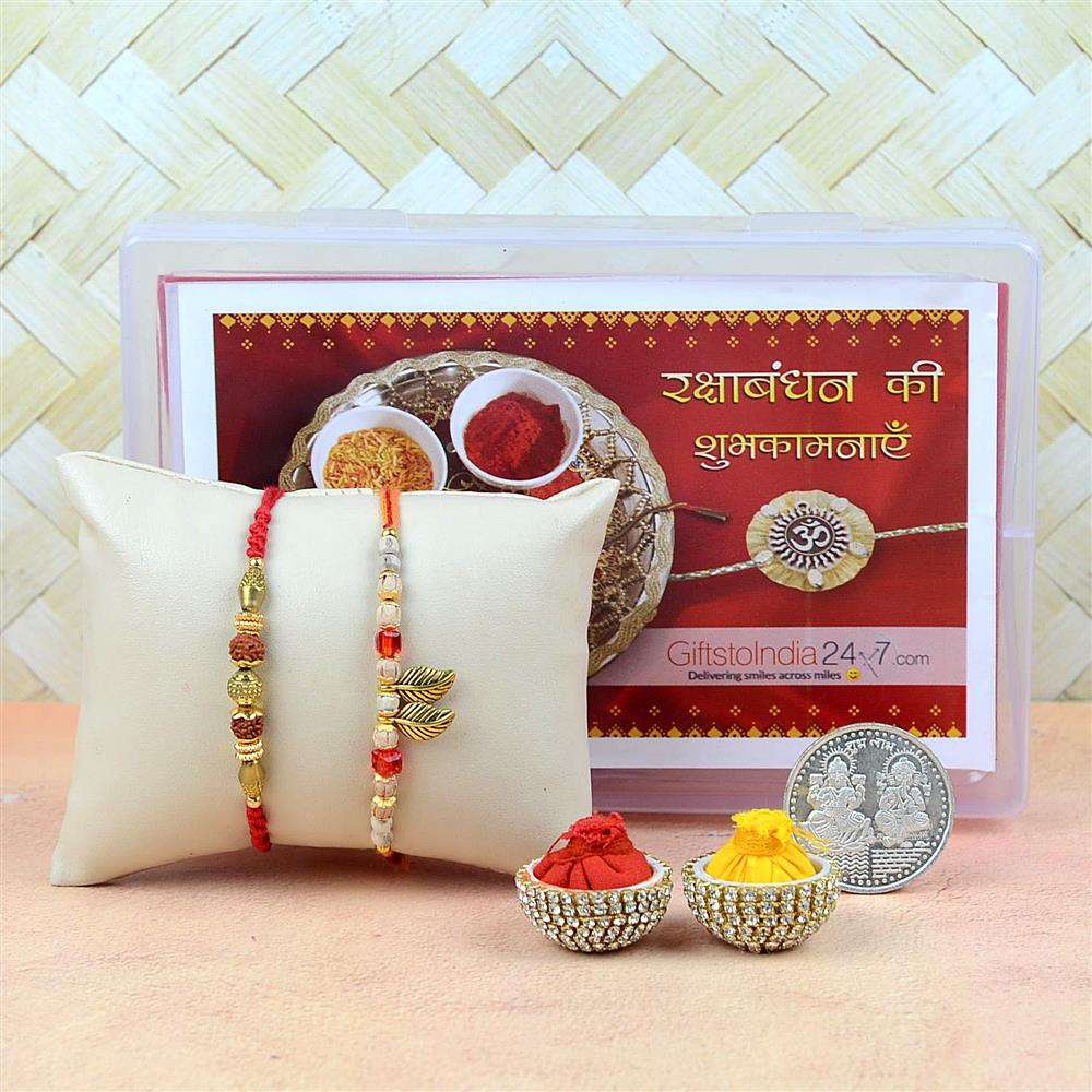 Spread The Rakshabandhan cheer with GiftstoIndia24x7.com, choose from a Special Collection of Rakhi & over 10,000 Gift Options for your Sibling in India
