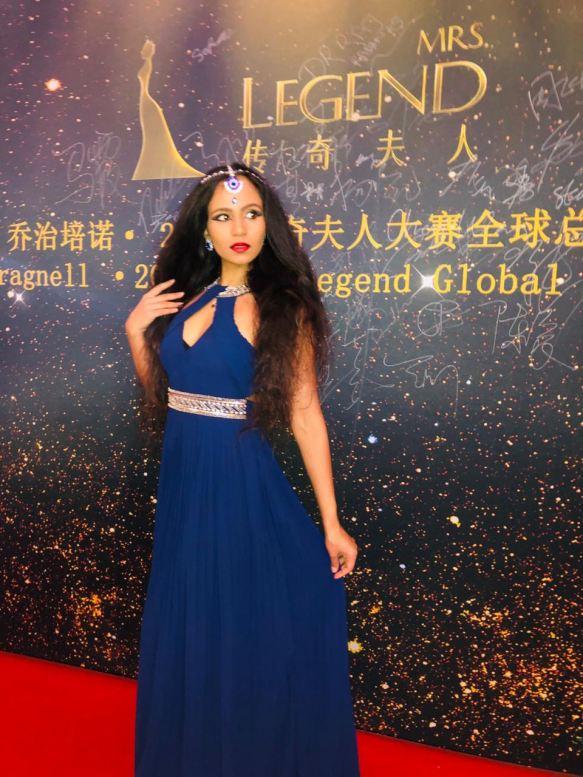Global Superstar Jahna Sebastian Highlighted for her acts of Kindness