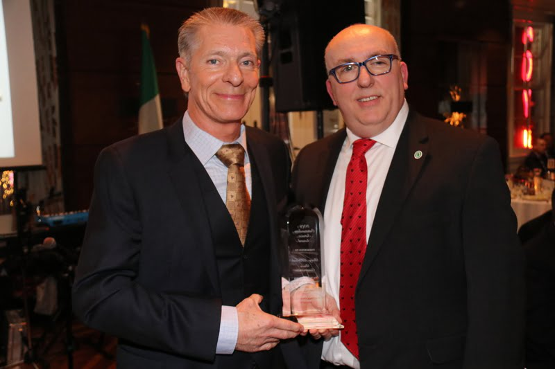 Duce Construction Receives Outstanding Service Award