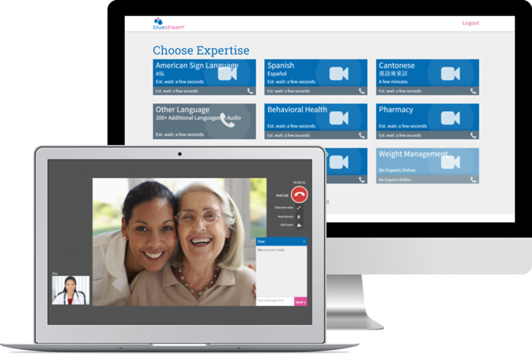 Bluestream and 2,300+ Small and Large Health Providers Combat COVID-19 with Free Virtual Care Solution